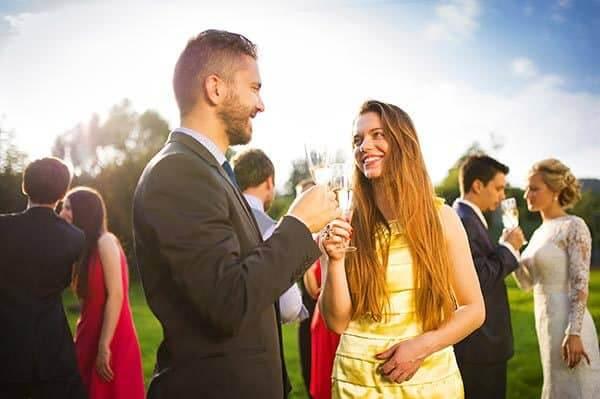 Fazzoletto da taschino ad una cerimonia